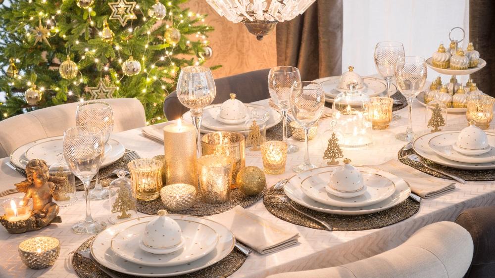 Maison du monde deco de table noel - Idée pour cuisine