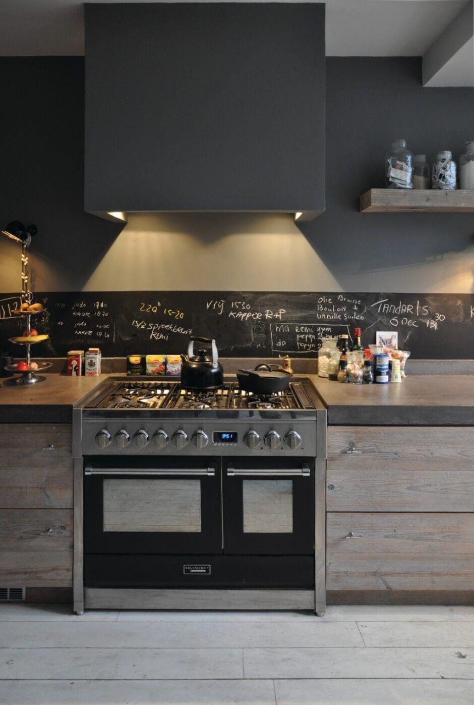 Crédence carrelage ardoise - Idée pour cuisine