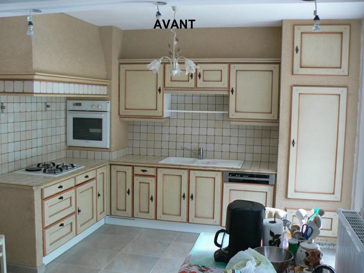 peinture renovation cuisine bois id e pour cuisine. Black Bedroom Furniture Sets. Home Design Ideas
