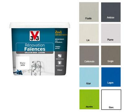 Peinture renovation meuble cuisine v33 id e pour cuisine - Peinture v33 meuble ...