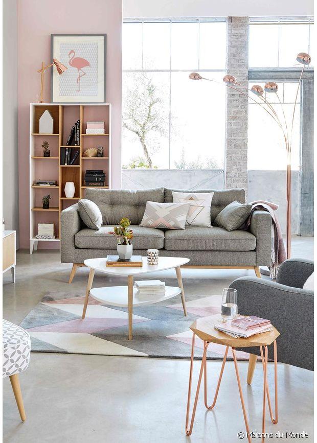 table basse style scandinave maison du monde id e pour. Black Bedroom Furniture Sets. Home Design Ideas