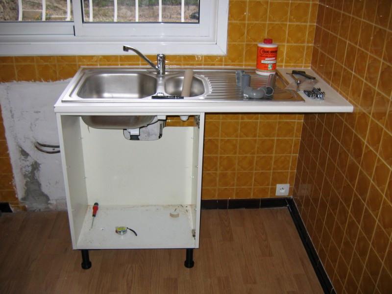 Meuble Cuisine Evier Ikea Idée Pour Cuisine