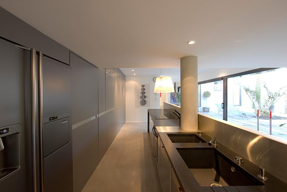Renovation cuisine en longueur id e pour cuisine - Idee cuisine en longueur ...