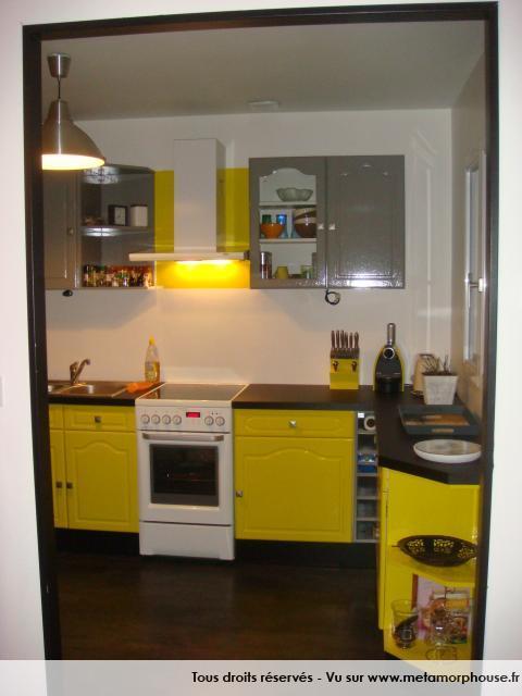 Meubles de cuisine jaune citron - Idée pour cuisine