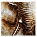Maison Du Monde Tableau Elephant Idee Pour Cuisine