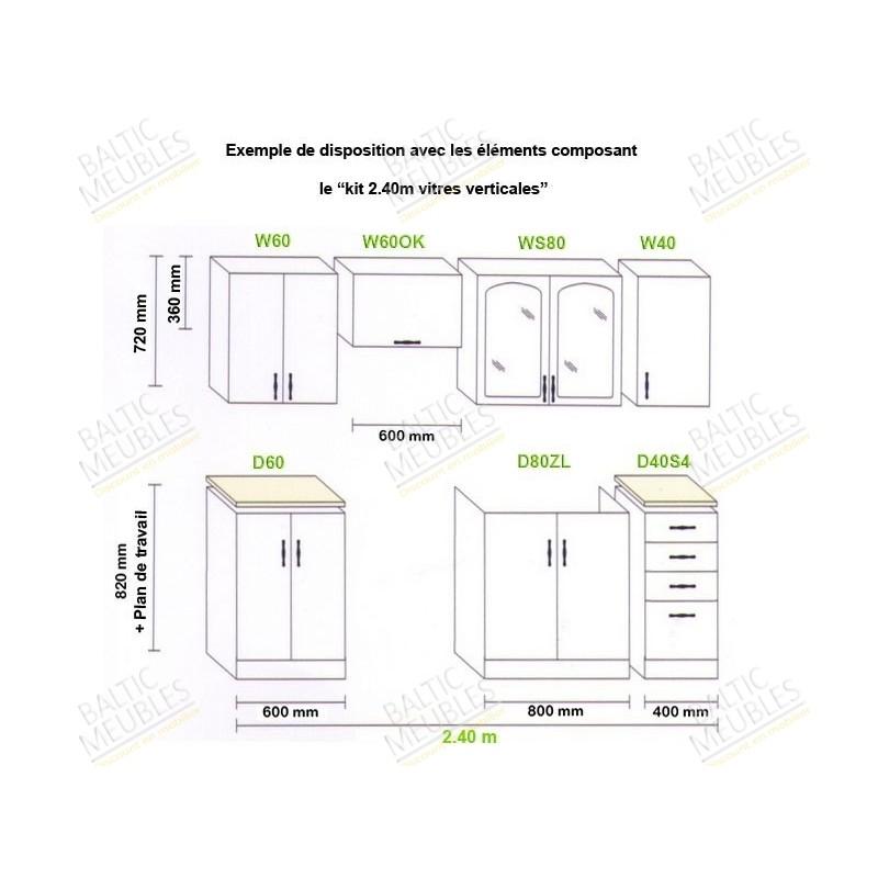Meuble haut cuisine a quelle hauteur id e pour cuisine - Hauteur placard cuisine ...
