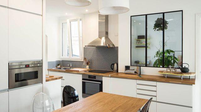 Renovation cuisine ouverte sur salon id e pour cuisine - Idee amenagement cuisine ouverte sur salon ...
