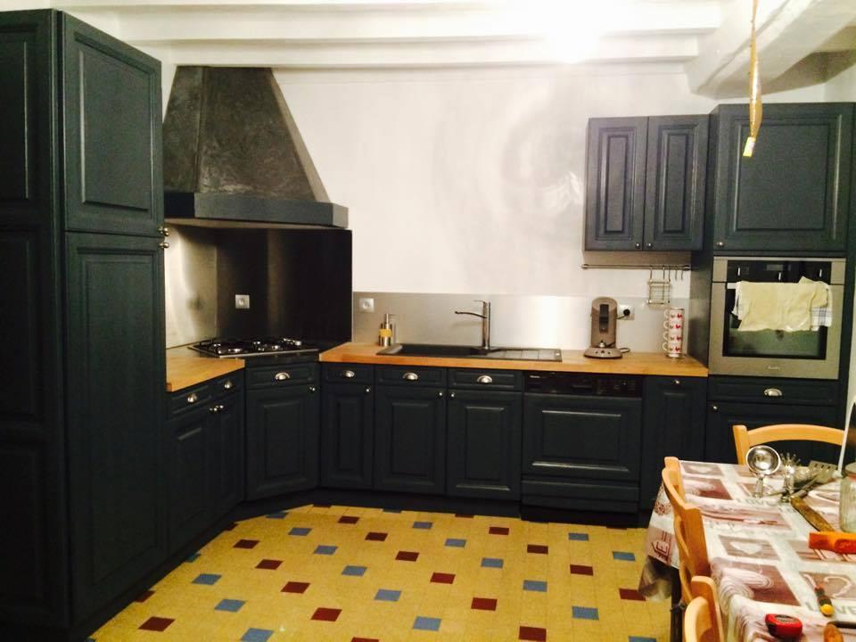 Renovation de cuisine rustique