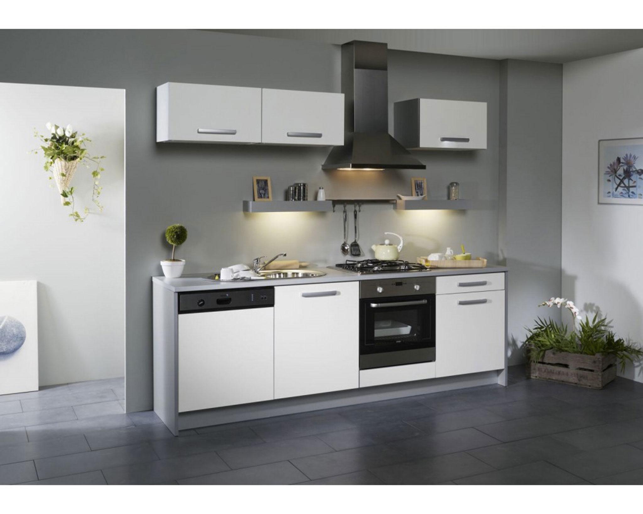 Meuble cuisine noir mat pas cher - Idée pour cuisine