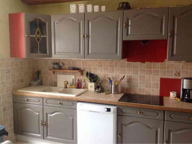 Peinture v33 renovation cuisine couleur id e pour cuisine - Peut on mettre du parquet dans une cuisine ...