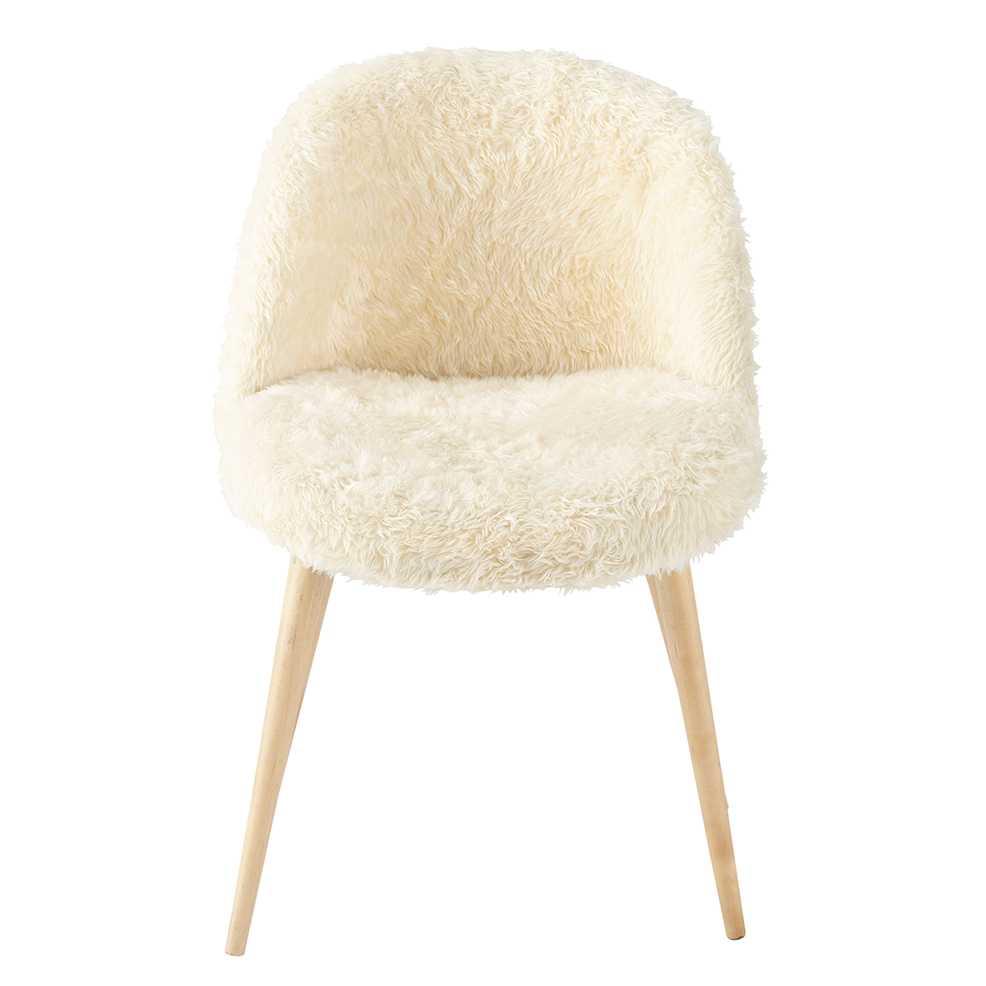 maison du monde chaise tissu