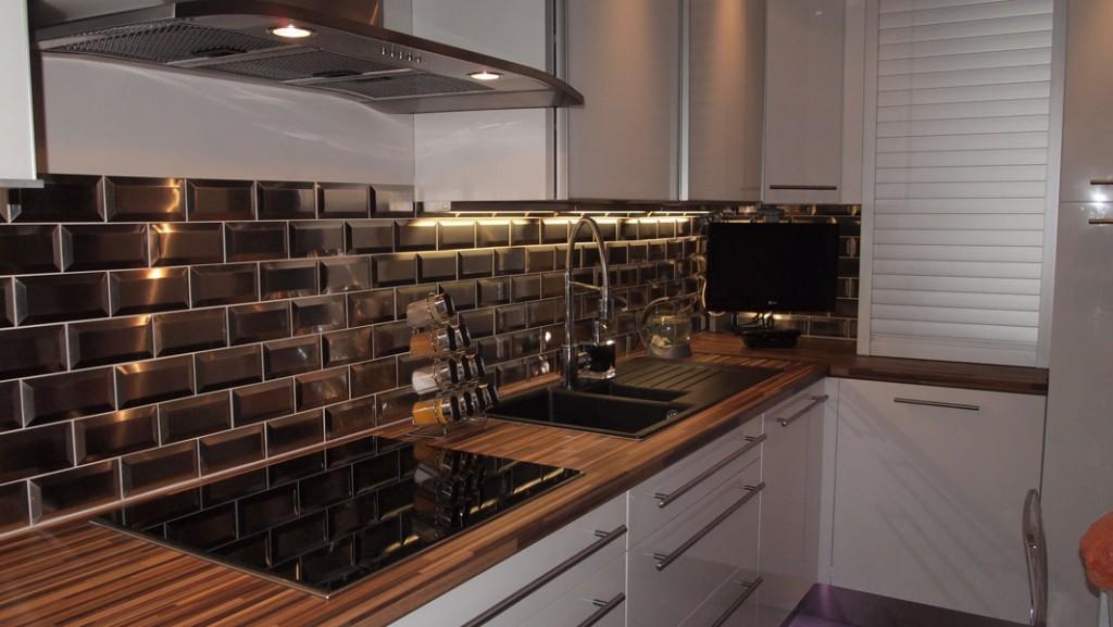 credence bois brico depot id e pour cuisine. Black Bedroom Furniture Sets. Home Design Ideas