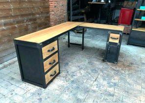 Armoire de bureau bois merveilleux buffet vintage en bois l cm