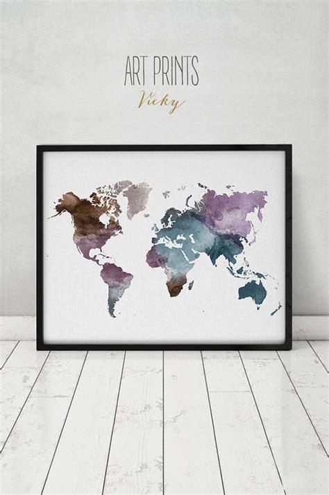 Maison du monde cadre carte du monde - Idée pour cuisine