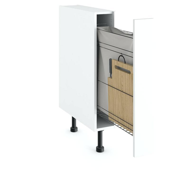meuble bas cuisine largeur 15 cm id e pour cuisine. Black Bedroom Furniture Sets. Home Design Ideas