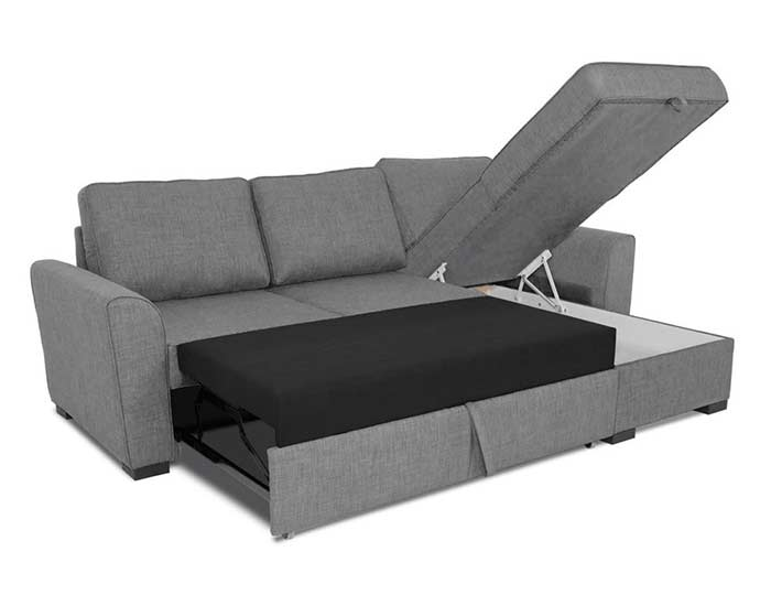 canap convertible gris maison du monde id e pour cuisine. Black Bedroom Furniture Sets. Home Design Ideas