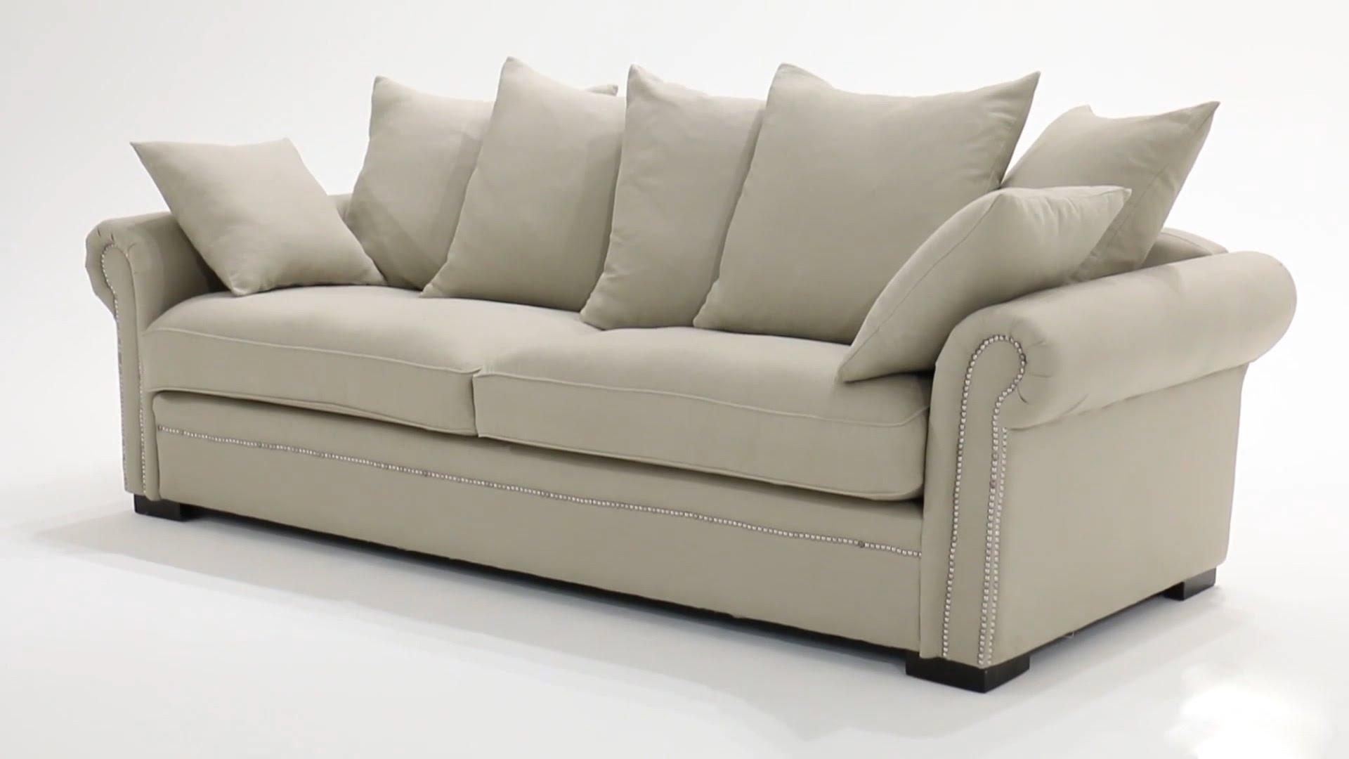 canap roma taupe maison du monde id e pour cuisine. Black Bedroom Furniture Sets. Home Design Ideas