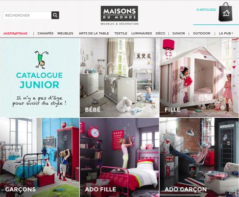 maison du monde catalogue 2016 junior id e pour cuisine. Black Bedroom Furniture Sets. Home Design Ideas