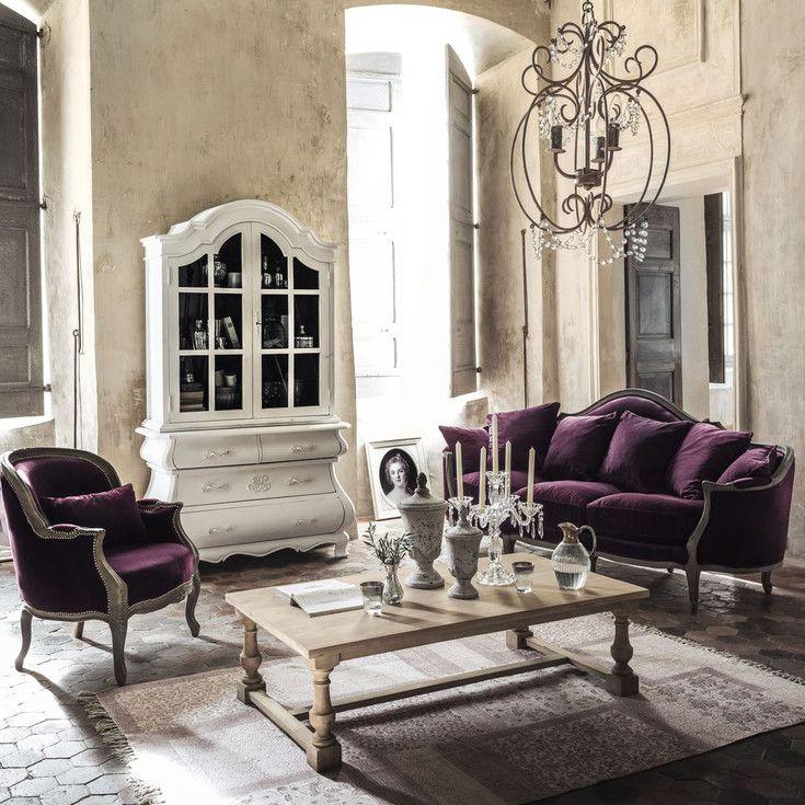 Chaise romantique maison du monde - Idée pour cuisine