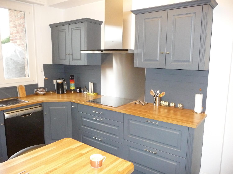 Renovation cuisine bois gris - Idée pour cuisine