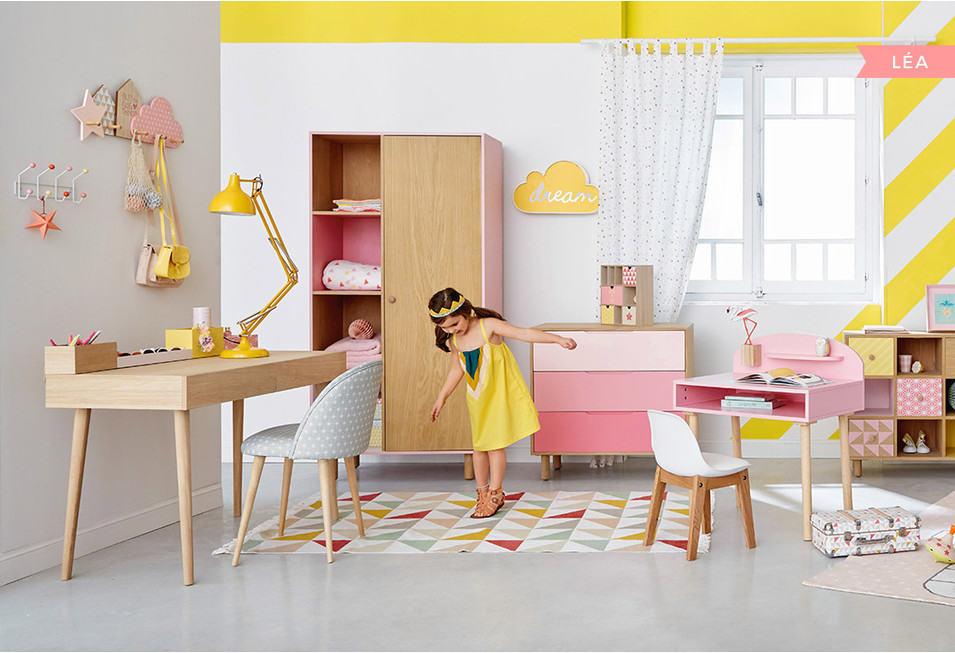 Maison du monde chambre petite fille - Idée pour cuisine