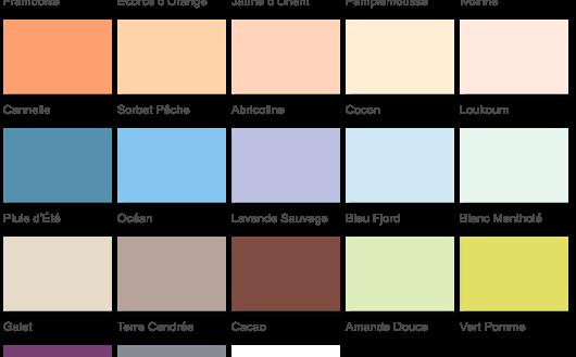 Nuancier Colours Castorama Gamboahinestrosa