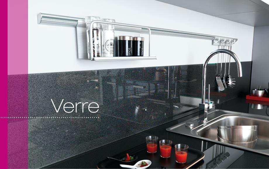 stunning choix credence cuisine images. Black Bedroom Furniture Sets. Home Design Ideas