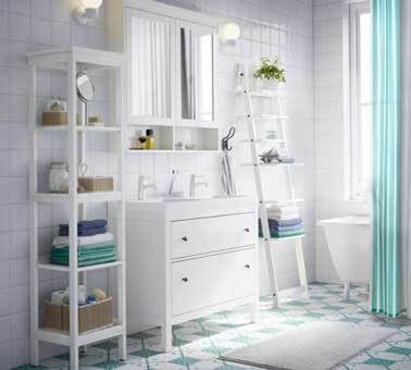 Credence ikea salle de bain id e pour cuisine - Petite salle de bain ikea ...