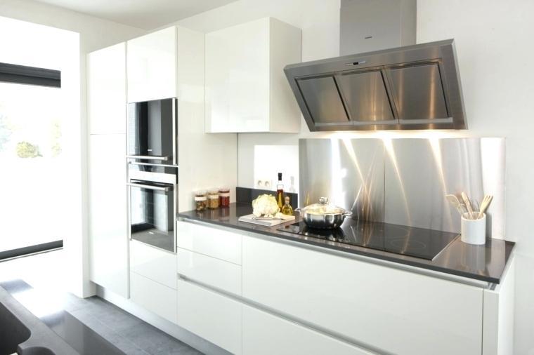 credence de cuisine blanche id e pour cuisine. Black Bedroom Furniture Sets. Home Design Ideas