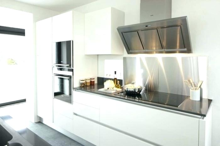 credence cuisine blanche verre id e pour cuisine. Black Bedroom Furniture Sets. Home Design Ideas