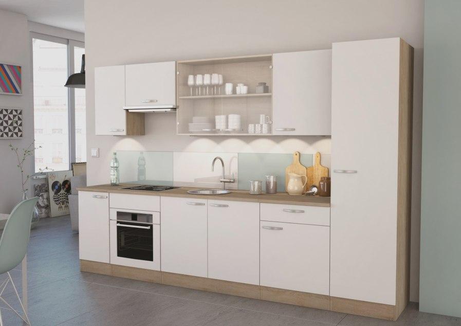 Meuble haut cuisine bois blanc - Idée pour cuisine