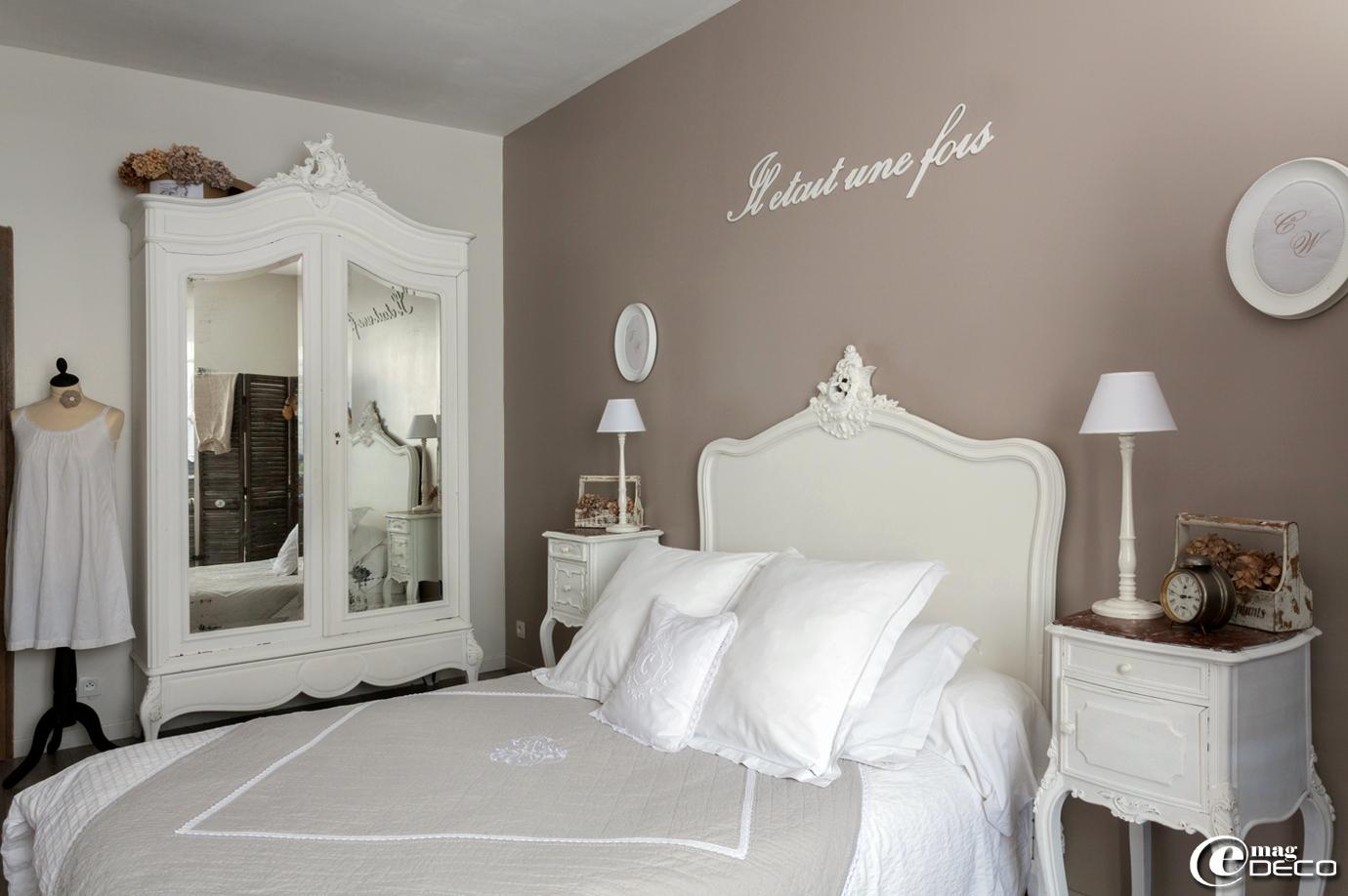 Deco Chambre Romantique Pittoresque Idace Dacco Chambre Idee Deco ...