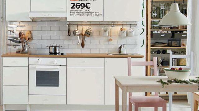 Meuble de cuisine ikea premier prix - Idée pour cuisine