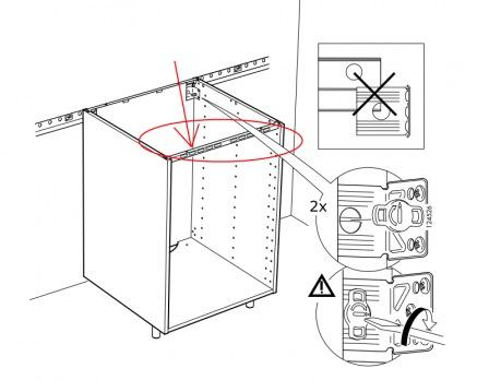 Meuble Haut Cuisine Ikea Fixation Idée Pour Cuisine