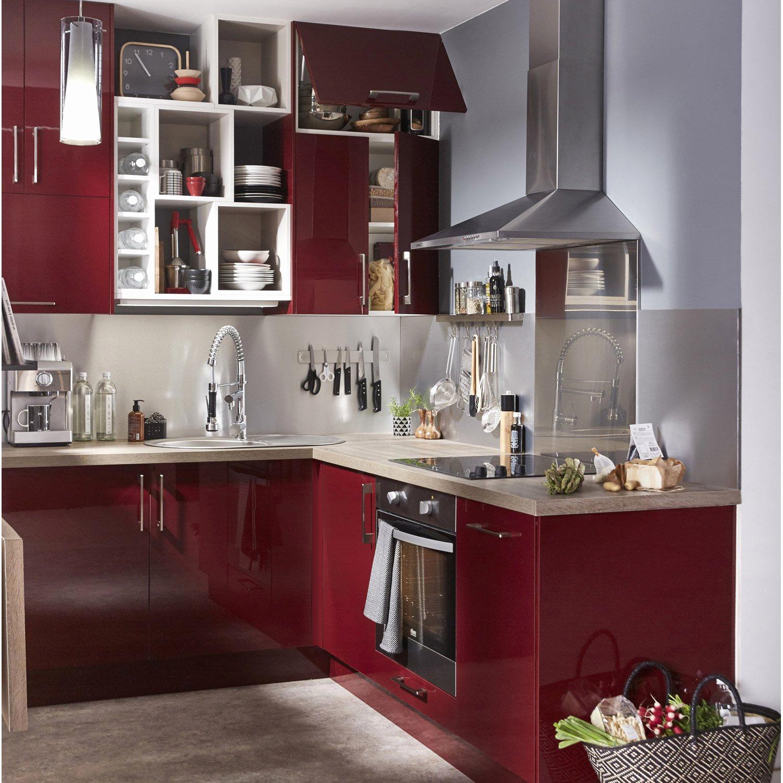 Meuble hotte cuisine leroy merlin - Idée pour cuisine