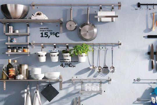 rail credence ikea id e pour cuisine. Black Bedroom Furniture Sets. Home Design Ideas