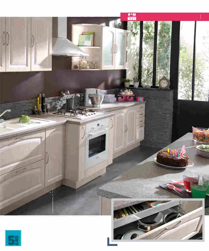 Meuble cuisine conforama irina - Idée pour cuisine