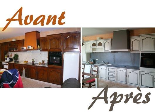 R novation de cuisine en bois id e pour cuisine - Renovation cuisine bois ...