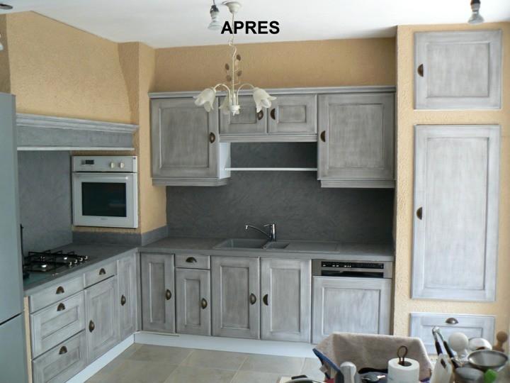 Charmant Renovation Meuble Cuisine Peinture