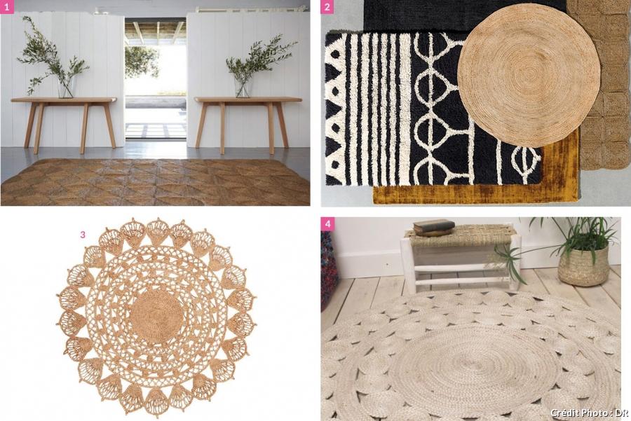 maison du monde tapis jute id e pour cuisine. Black Bedroom Furniture Sets. Home Design Ideas
