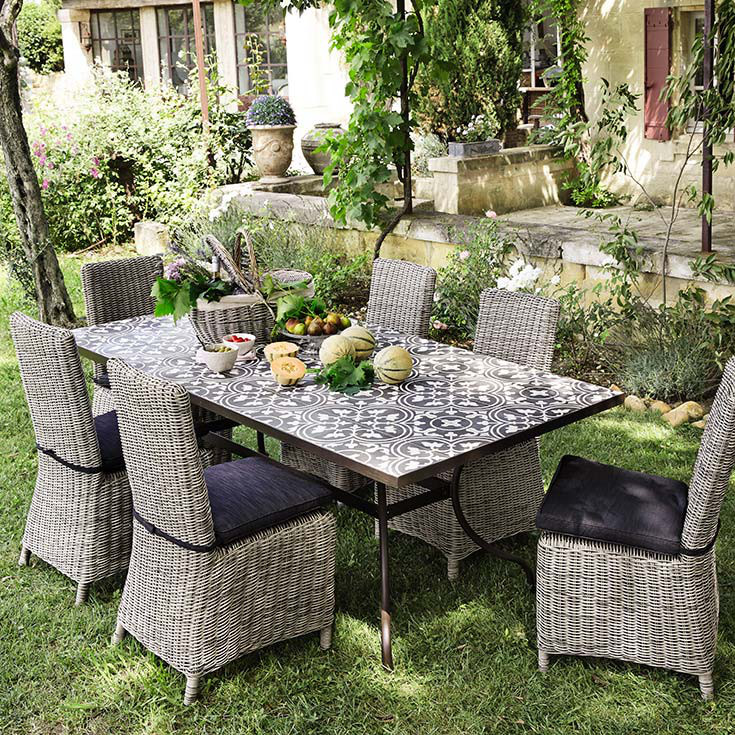 Best Table De Jardin Extensible Maison Du Monde Photos - House ...