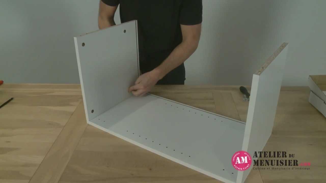 Fabriquer un meuble de cuisine haut