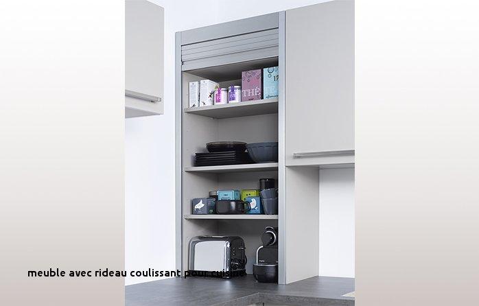 Meuble De Cuisine à Rideau Aluminium Idée Pour Cuisine