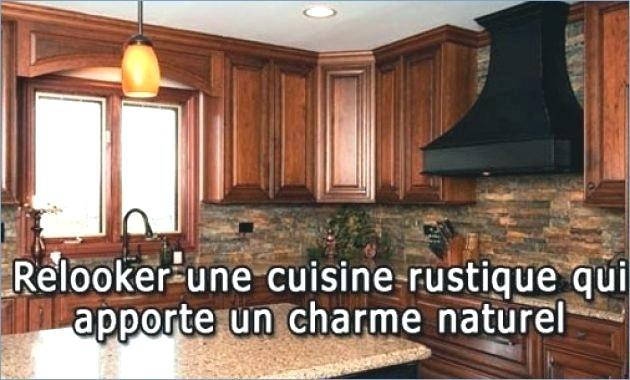 Relooker cuisine rustique chene