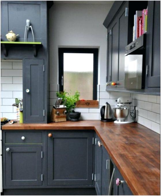 Meuble de cuisine gris anthracite - Idée pour cuisine