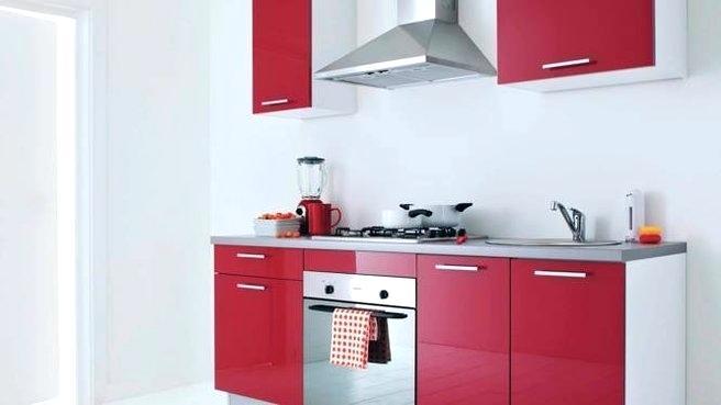 Meuble haut cuisine rouge but id e pour cuisine - Cuisine rouge but ...