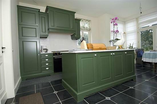 Meuble cuisine vert id e pour cuisine Meuble cuisine vert pomme