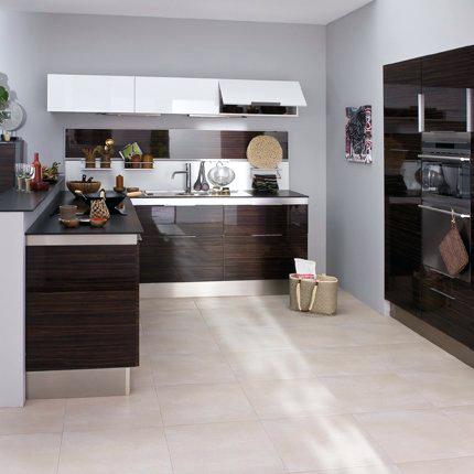 Meuble cuisine wenge - Idée pour cuisine