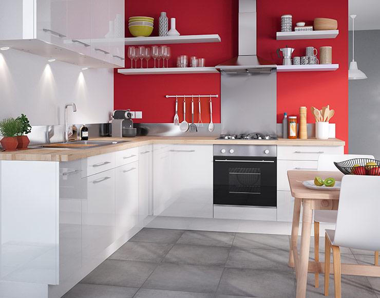 Meuble cuisine moderne - Idée pour cuisine