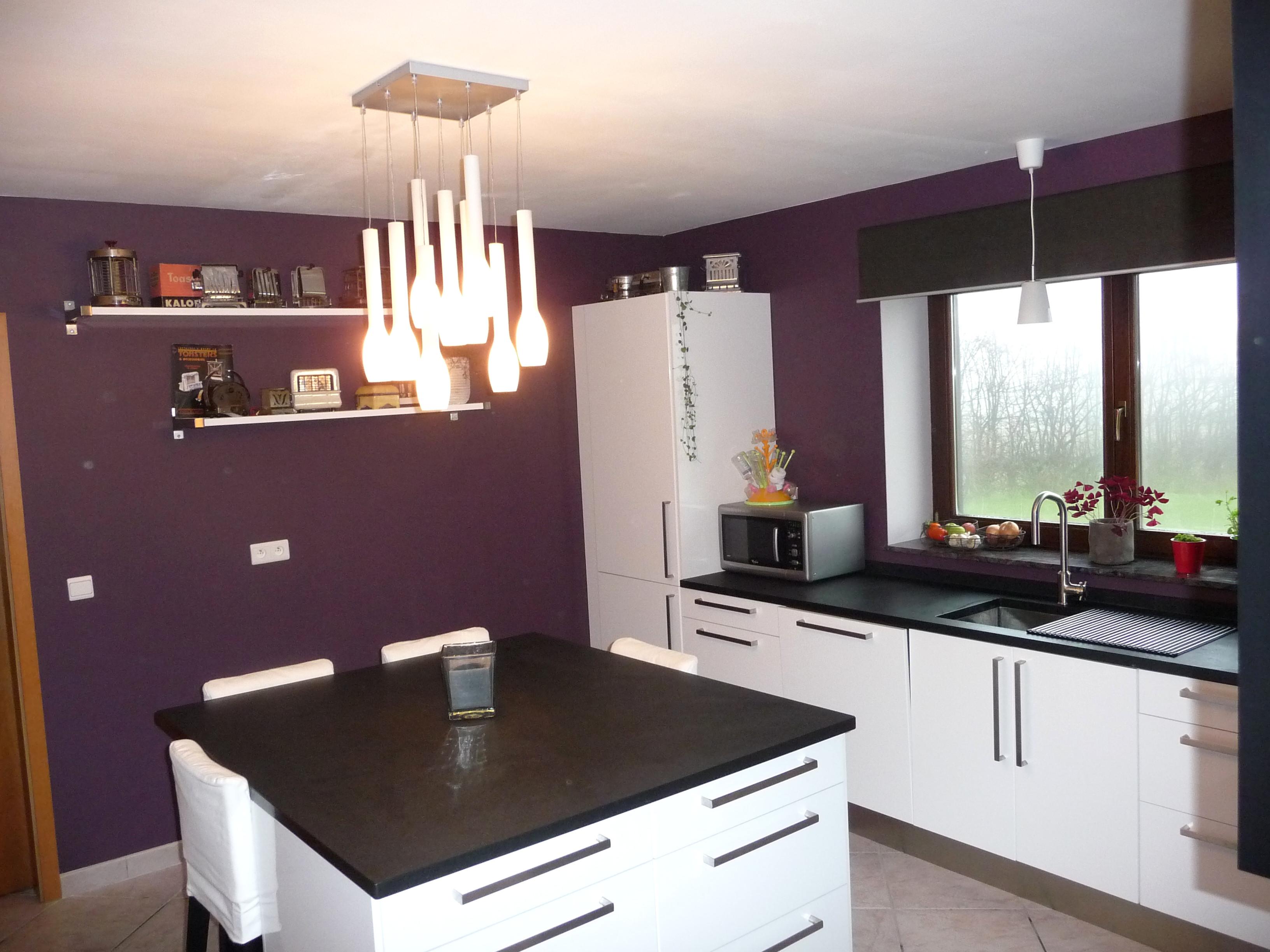Quel Blanc Pour Les Murs meuble de cuisine blanc quelle couleur pour les murs - idée pour cuisine